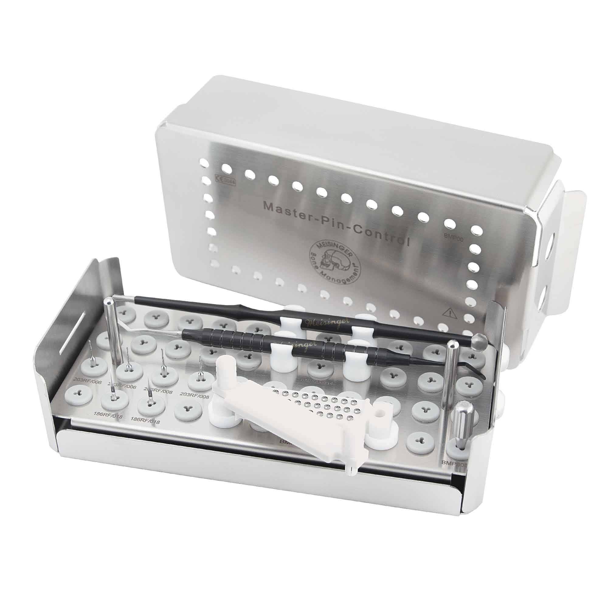BMP00 Master-Pin-Control Kit, Pin System for Membrane Fixation, 34 Pins